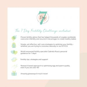 7 Day Fertility Challenge Includes