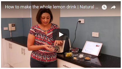 How to make the whole lemon drink instruction video_Fertility Insights w Gabriela Rosa_ Video Thumbnail