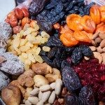 Healthy eating and nutrition_ dehydrated fruit