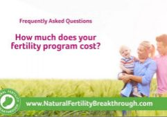 How much does your fertility program cost Natural Fertility Breakthrough Program
