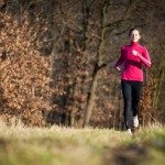 Infertility-Prevention_Young-Woman-Running-Outdoors